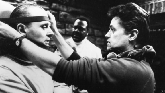 """Filmmaker Jonathan Demme, whose Oscar-winning thriller """"The Silence of the Lambs"""" terrified audiences, died April 26 at the age of 73. Here, Demme works on the """"Silence of the Lambs"""" set with actor Anthony Hopkins in 1991. Demme's other films include """"Philadelphia,"""" """"Married to the Mob"""" and a remake of """"The Manchurian Candidate."""""""