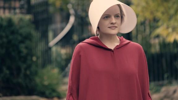 Elisabeth Moss as Offred in Hulu