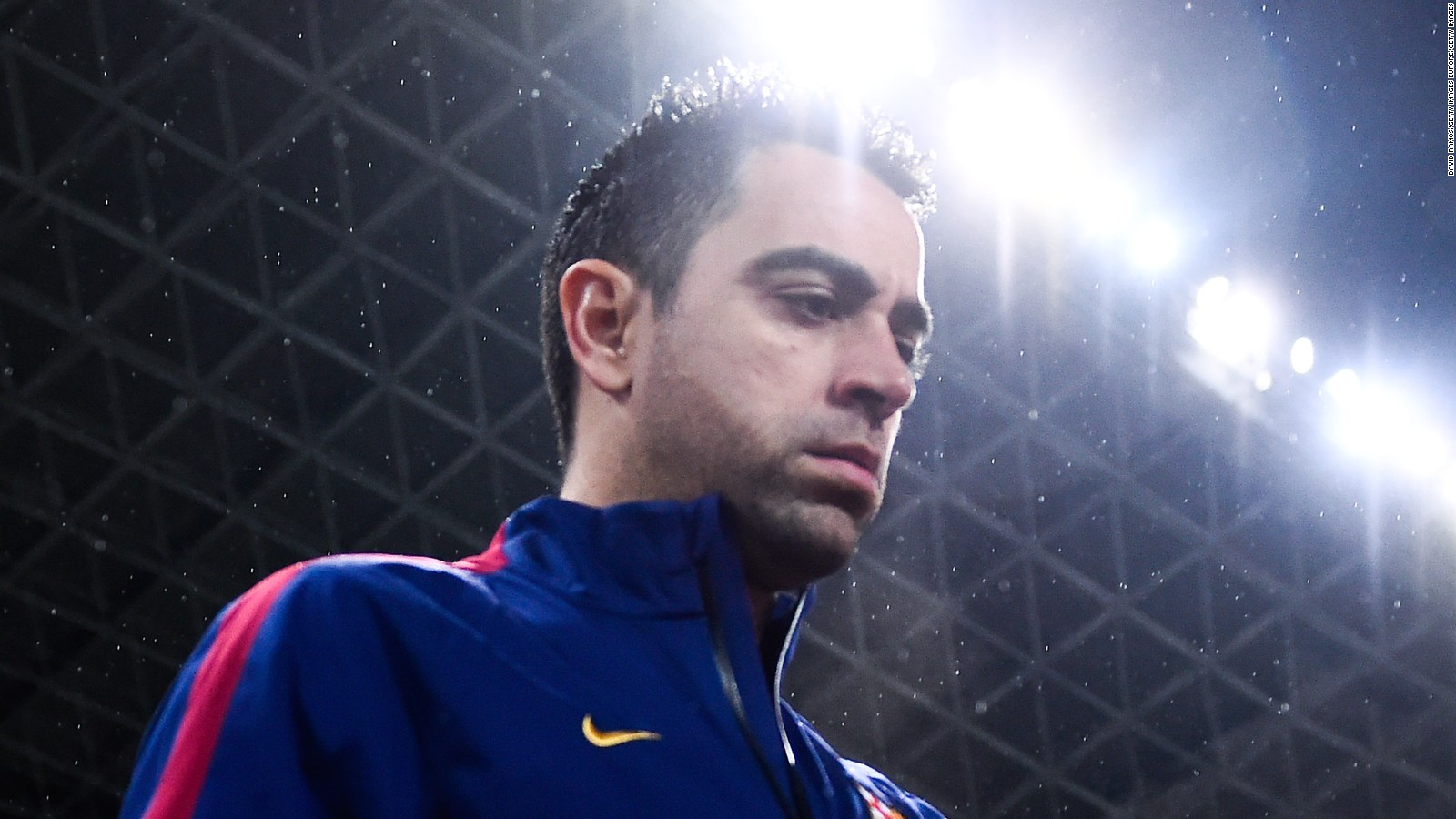 Xavi hernndez my dream is to coach fc barcelona cnn voltagebd Images