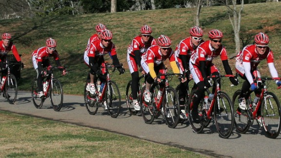 Southerland leads his first all-diabetic cycling team for Team Type 1.