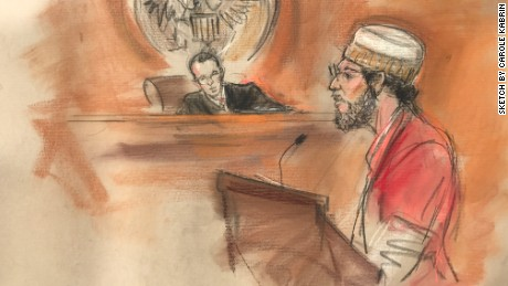 Dr. Fakhruddin Attar during a court appearance on Wednesday.