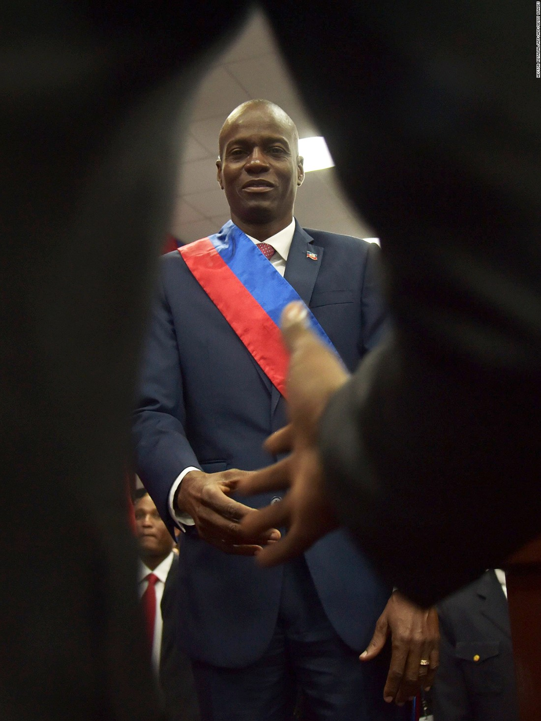 Haiti finally has a president