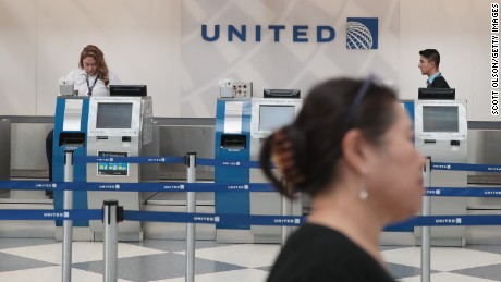 CHICAGO, IL - APRIL 12:  Passengers arrive for flights at the United Airlines terminal at O'Hare International Airport on April 12, 2017 in Chicago, Illinois. United Airlines has been struggling to repair their corporate image after a cell phone video was released showing a passenger being dragged from his seat and bloodied by airport police after he refused to leave a reportedly overbooked flight that was preparing to fly from Chicago to Louisville.  (Photo by Scott Olson/Getty Images)