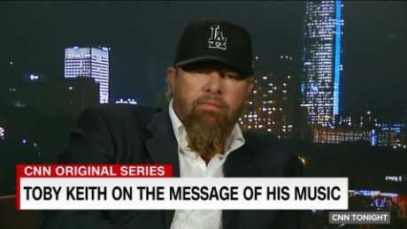 Toby Keith on the message of his music