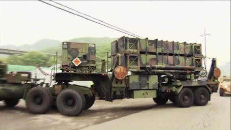 THAAD system in South Korea almost operational