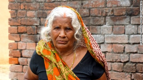 Laxmi Devi, the mother of a suspected Maoist, said anti-rebel forces often raid her house.