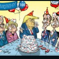 02 100 day trump cartoon