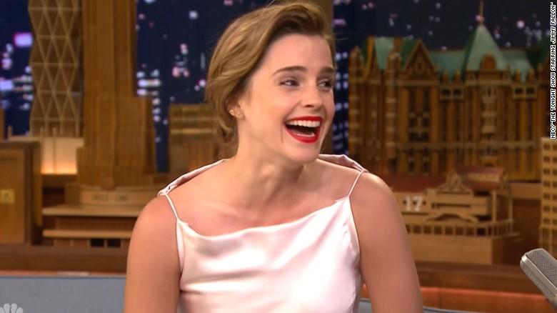 Emma Watsons Late Night Mix Up