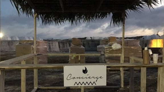 The Fyre Festival was not ready for the show when its luxury travelers arrived.