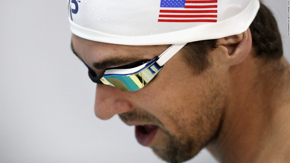 Michael Phelps shares battle with depression