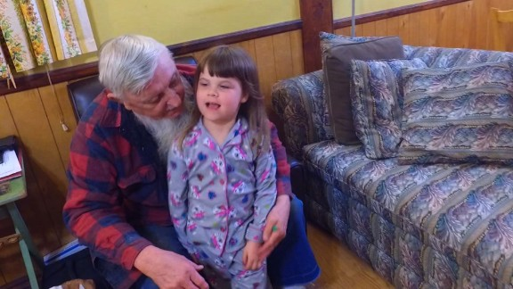 Michael Flynn and his grandaughter, Megan.