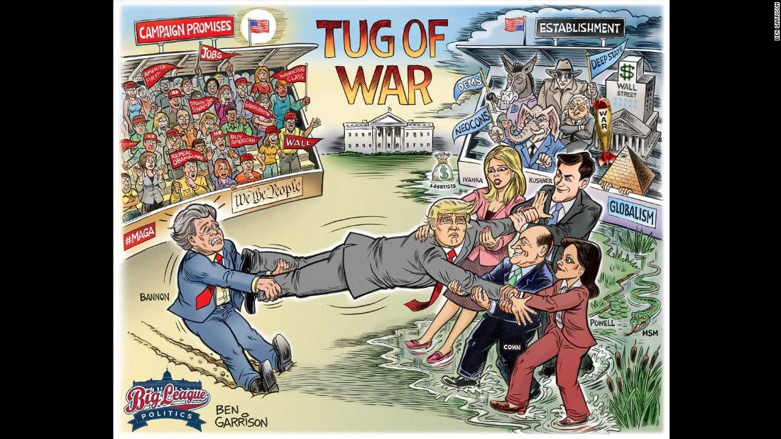 Ben Garrison is an independent cartoonist living in Montana.<br />