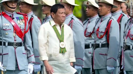 Trump has invited Duterte to the White House