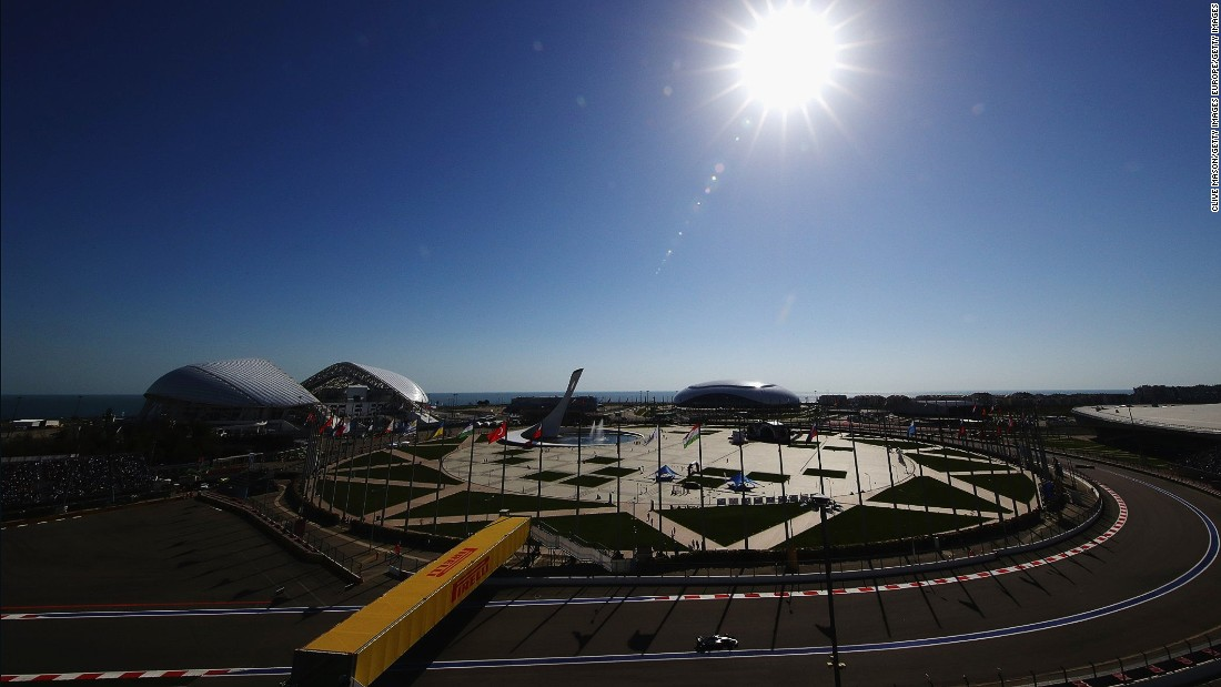 The Sochi track is set among the Olympic venues that hosted the Winter Games in 2014 -- the same year of the inaugural Russian Grand Prix.
