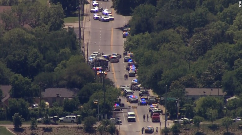 Police: Paramedic shot, scene remains active