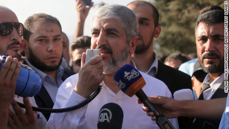 Hamas says it accepts '67 borders, but doesn't recognize Israel