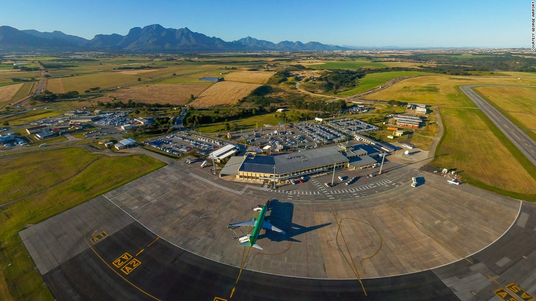 South Africa's George Airport has become the first on the continent to be powered by solar energy.