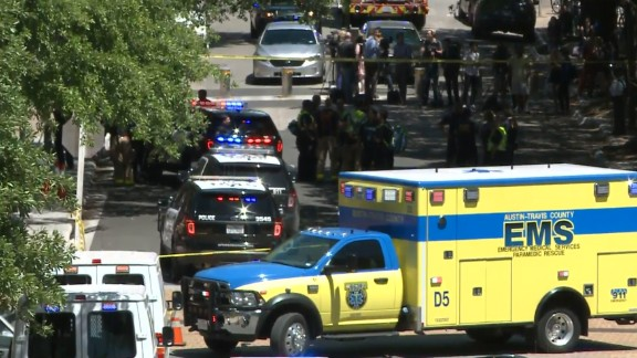 One person has died in a stabbing on the University of Texas -- Austin campus.