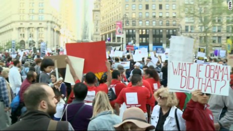 May Day New York screengrab