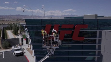 Behind the scenes at UFC's new headquarters