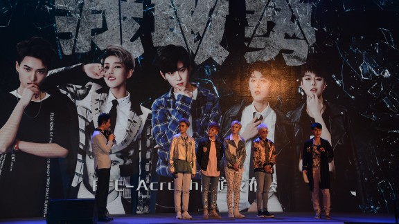 FFC-Acrush at their press conference on Friday, April 28, in Beijing.