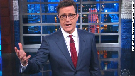 3 views: Is Colbert's off-color Trump joke a firing offense?