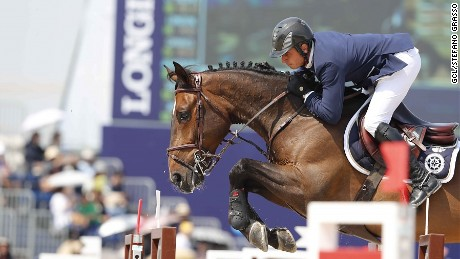 Julien Epaillard, seen here earlier in the season in Shanghai, delighted the crowd with a French win.