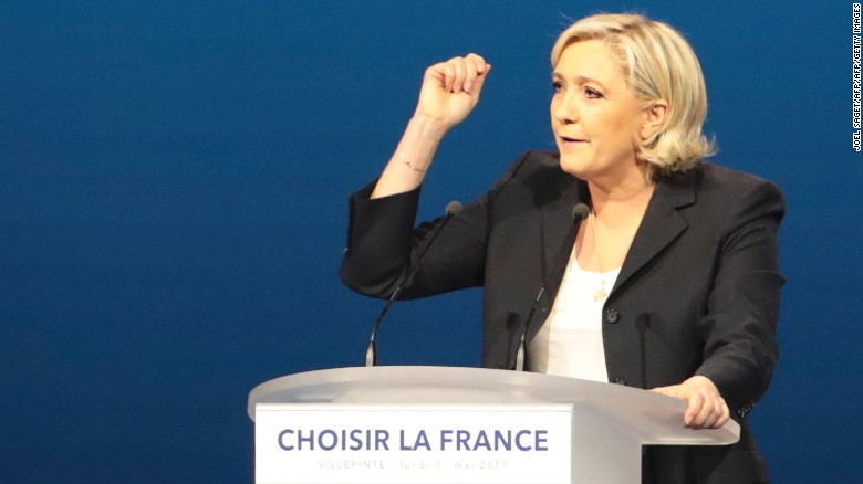 Le Pen: This is a revolt against the elites