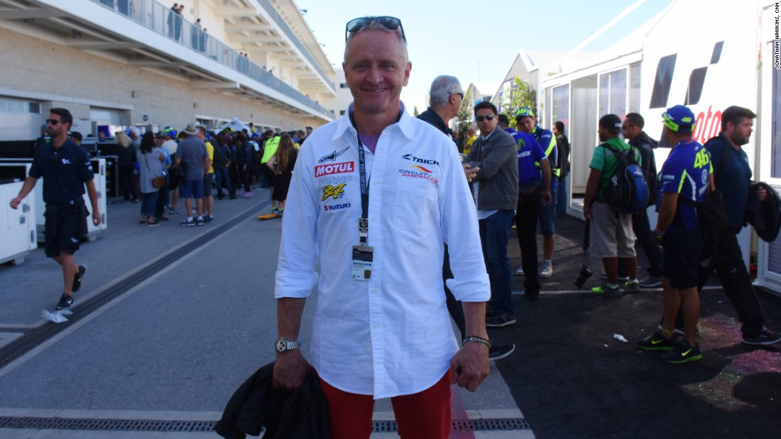 Schwantz, who co-designed the Circuit of the Americas, is optimistic for the sport's future in the US.