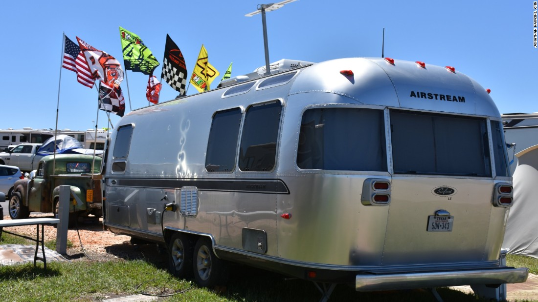 American fans flocked to Austin for the MotoGP race weekend, many camping by the Circuit of the Americas.