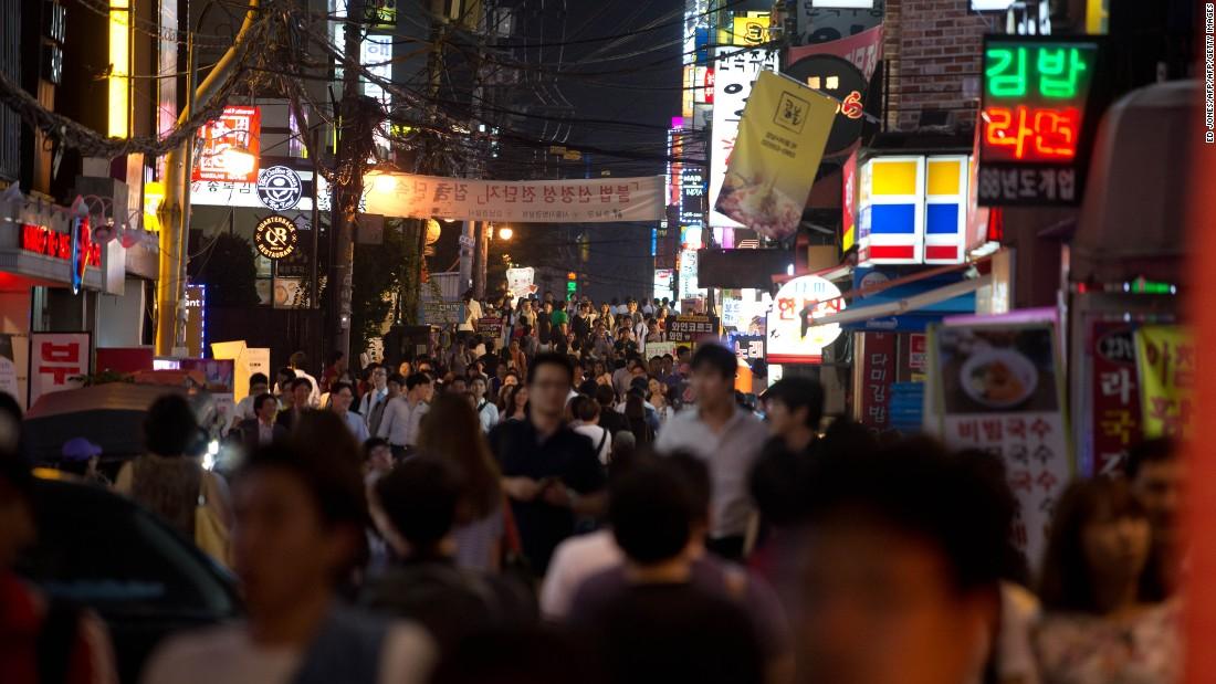 Gay bars seoul korea