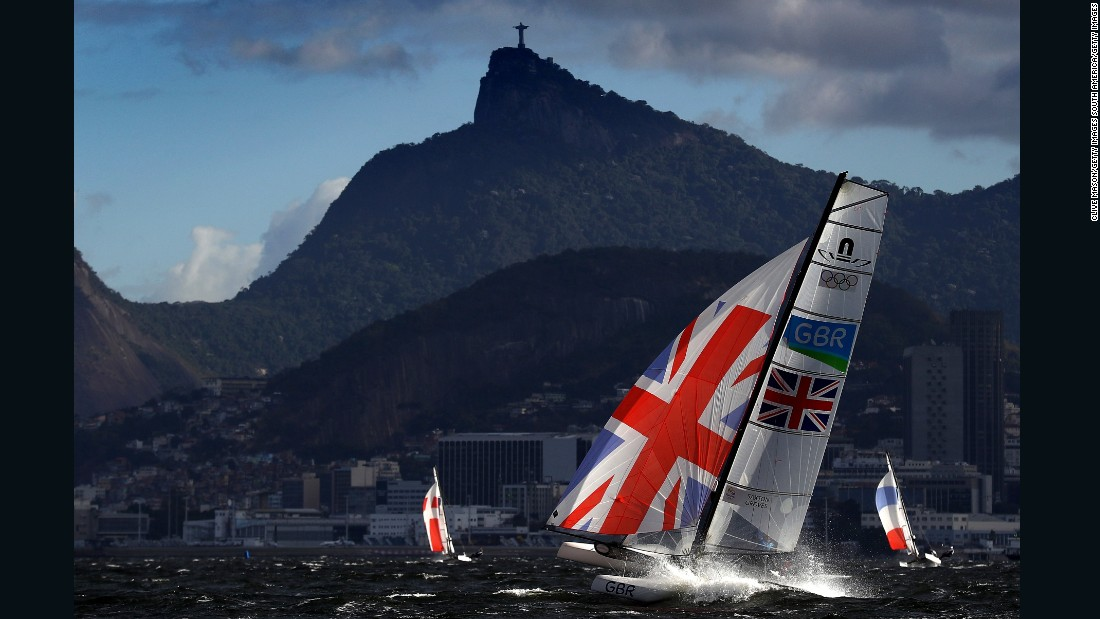 As the events started and windsurfers, dinghies and skiffs flew by in the shadow of Sugarloaf Mountain, Mason freely admits Rio 2016 became as much about the topography as the sailing talent.