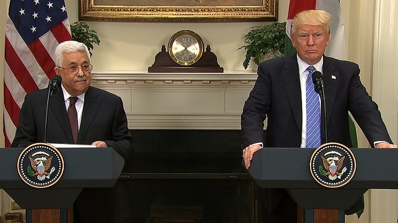 Trump hopes to mediate Israeli, Palestinian peace