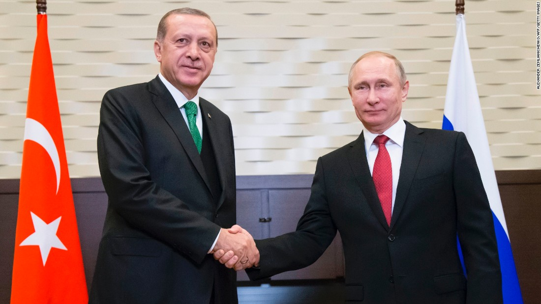 Turkey and Russia to create buffer zone in rebel-held Syrian province