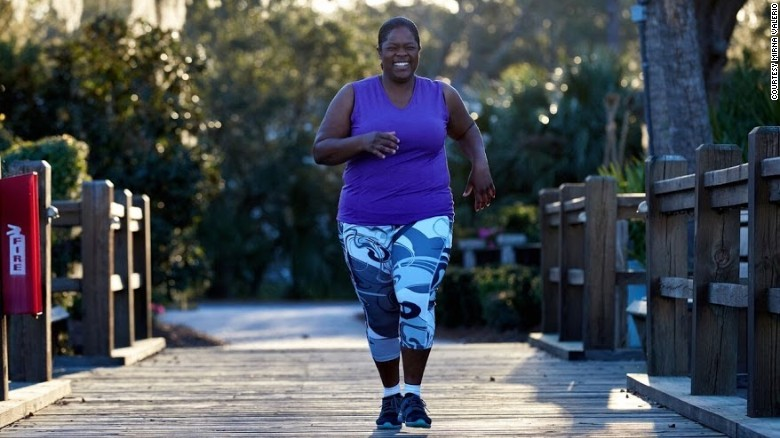 Plus-Size Runner Leads the Way for Overweight Athletes