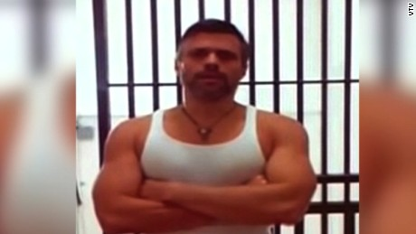 Venezuela publishes Leopoldo Lopez video