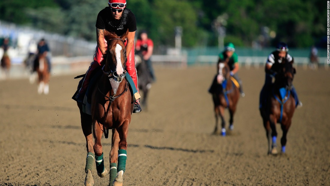 California Chrome won the Kentucky Derby in 2014 and came close to winning the Triple Crown but fell short at Belmont.