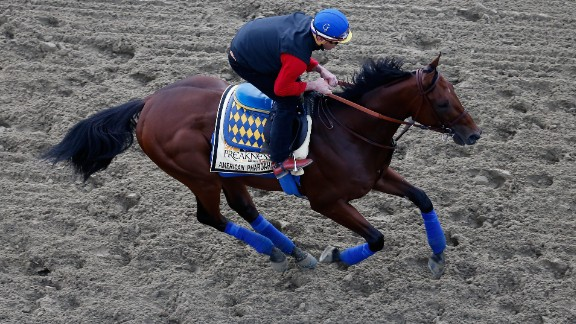 The Kentucky Derby is the first leg of three thoroughbred races -- the Triple Crown -- and is run ahead of the Preakness Stakes and Belmont Stakes. In 2015, American Pharoah became just the12th horse to win that coveted Triple Crown.
