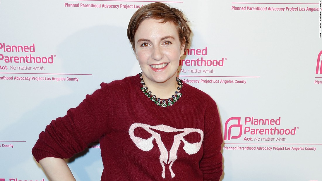 "Creator of the HBO series ""Girls,"" Lena Dunham has been an outspoken voice for women's and LGBT issues. When she was hospitalized with complications of endometriosis, she took to social media to promote Planned Parenthood and LGBT clinics that supply care for those who may otherwise not have access to it."