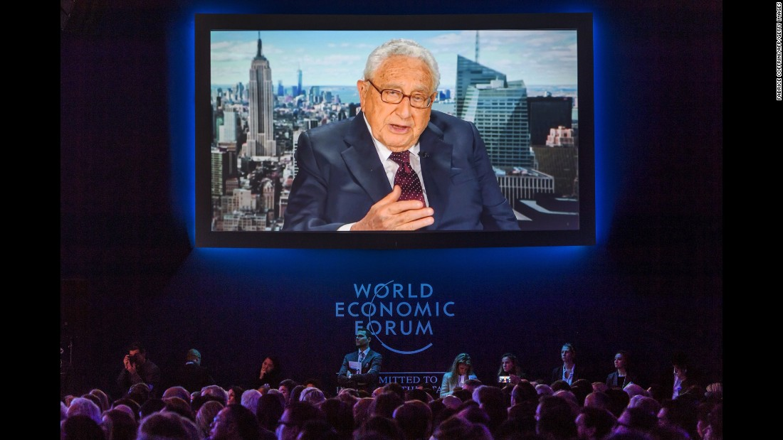 <strong>Henry Kissinger, born 1923: </strong>Born Heinz Alfred Kissinger, he was the first person to serve as both national security adviser (1969-75) and secretary of state (1973-77).