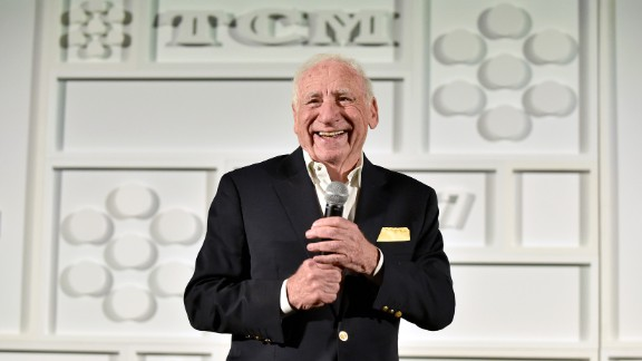 """Mel Brooks, born 1926: The American comedian, actor, director, producer, playwright and screenwriter is best known for comedic farces such as """"The Producers,"""" """"Blazing Saddles,"""" """"Young Frankenstein"""" and """"Spaceballs."""""""