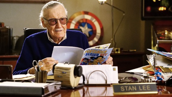 "Stan Lee, born 1922: American comic book author Lee championed close collaboration between comic book writers and artists. The collaborative approach was known as the ""Marvel Method."" In 2011, he was given a star on the Hollywood Walk of Fame."