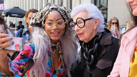 Iris Apfel, born 1921: Famed fashion designer Apfel reached the peak of her fame over a decade after her retirement. She's known for her iconic look -- specifically her oversize round sunglasses. As a young designer, Apfel worked on restoration and design projects in the White House for nine presidents. Now, Apfel continues her work with clothing lines, museum exhibits and consulting jobs around the world.