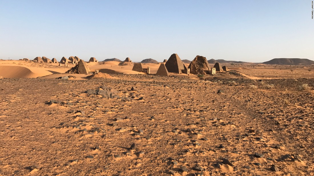 Meroe is an ancient city that was the capital of the Kingdom of Kush for several centuries. The pyramids here house the remains of the deceased Kushite rulers.