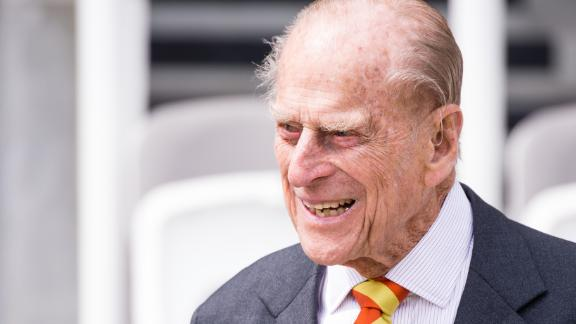 LONDON, ENGLAND - MAY 03:  Prince, Philip, Duke of Edinburgh opens the new Warner Stand at Lord
