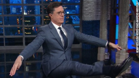 Colbert mocks GOP over health care bill