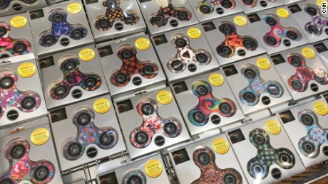 Fidget spinners, all the rage among teens around the world, are being investigated in Russia.