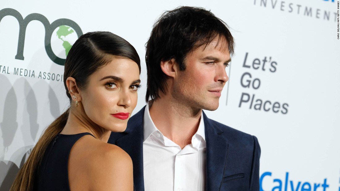 Nikki Reed and Ian Somerhalder welcomed  daughter Bodhi Soleil Reed Somerhalder on July 25, 2017. The couple married in April 2015.
