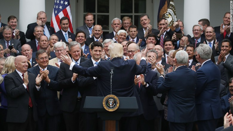 Rep. Yoho defends Rose Garden victory photo