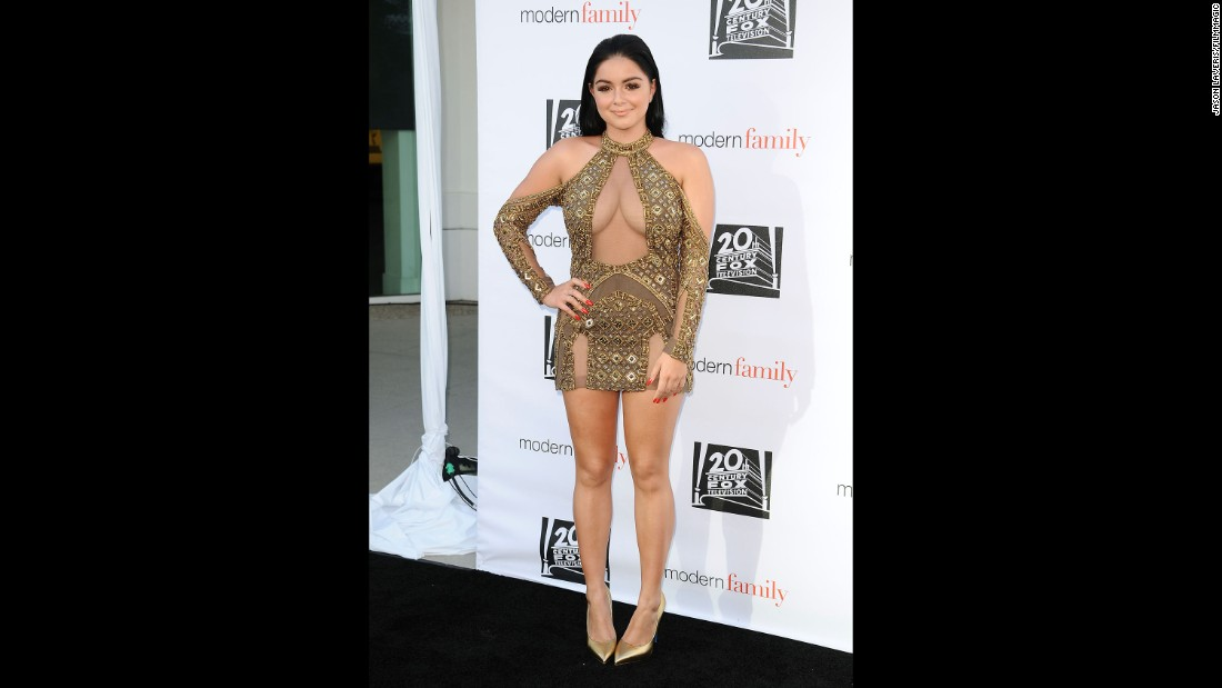 """Modern Family"" star Ariel Winter has taken on those who have body shamed her for everything from the size of her breasts to how she dresses."